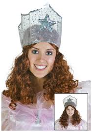glinda the good witch childrens costume charming witch wig