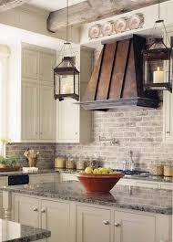 faux brick kitchen backsplash splashback ideas white kitchen morespoons b973faa18d65