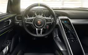 porsche 917 interior pure energy the 918 spyder