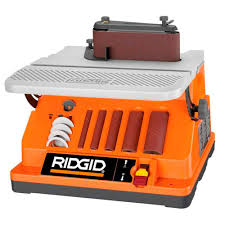 home depot black friday rigid ridgid oscillating edge belt spindle sander spindle sander and