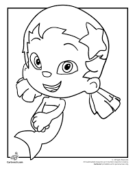 printable 9 bubble guppies coloring pages oona 7078 bubble