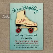 roller skating birthday invitations nifty printables