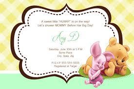 winnie the pooh baby shower winnie the pooh baby shower invitations winnie the pooh baby