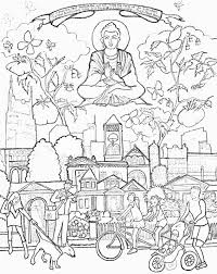 buddhism coloring pages getcoloringpages com