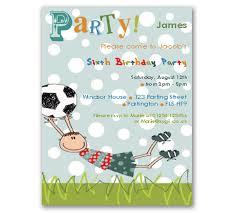 football birthday invitations templates
