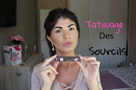 sourcil maquillage permanent prix tatouage des sourcils permanent à la maison youtube