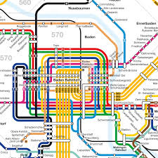 Baden Baden Linie Haltestellenfahrplan Rvbw