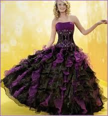 purple and orange wedding dress purple and black wedding dresses obniiis com