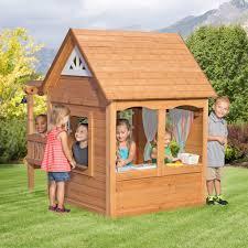 cascade playhouse natural styles playhouses and pergolas
