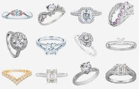 types of engagement rings types of rings lovely setting types popular types