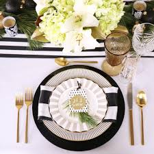 Gold Table Setting how to style a christmas table setting styled settings