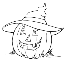 pumpkin coloring pages print see best photos of pumpkin outline
