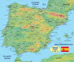 Asturias Spain Map by Map Of Spain Spain Travel Pinterest Barcelona Spain Map