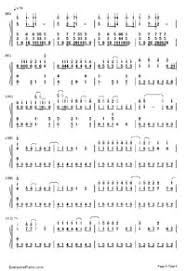 wedding dress chords piano wedding dress taeyang numbered musical notation preview 3 free