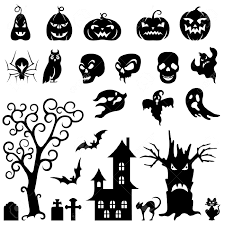 furniture prepossessing halloween window silhouettes snazzy