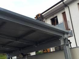 tettoia in ferro tettoia per copertura pompe di benzina carpenteria metallica