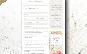 new business client information template cards il fullxfull 1339191267 sf5v imposing eyelashtension