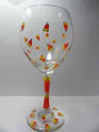 halloween glass halloween wine glasses handcraftedby2