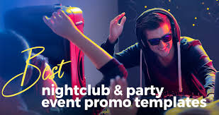 best nightclub party and event promo after effects video