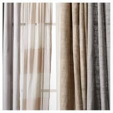 Sheer Grommet Curtains Linen Grommet Sheer Curtain Panel Threshold Target
