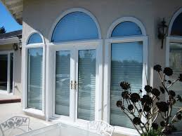 blue arch window shade the advantage of using arch window shade