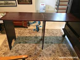 How To Make A Sewing Table by How To Make A Sewing Armoire Southern Hospitality