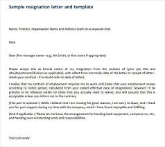 how to write a professional resignation letter free u0026 premium