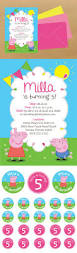 caillou birthday invitations 490 best pepa images on pinterest pigs pig party and pig birthday