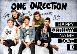 one direction cards one direction denim hues birthday card funky pigeon