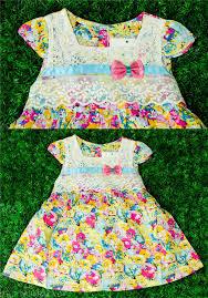 gawn gaun dress flower bunga childr end 11 6 2018 11 15 pm