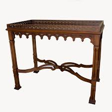 Mahogany Console Table Vintage Georgian Style Mahogany Console Table By Ebth