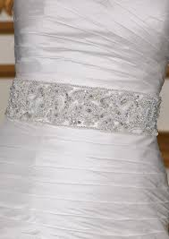 Wedding Dress Sashes Find A Sash For Your Wedding Dress Mywedding