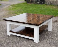 square reclaimed wood coffee tables zone rustic tabl thippo