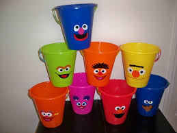 halloween pails wholesale sesame street birthday party favor pails price is for one
