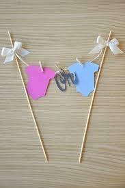 gender reveal cake toppers cake topper gender reveal onsie banner baby shower boy or girl