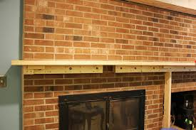 Remove Brick Fireplace by The Handcrafted Life The Finale To Building A Fireplace Facade