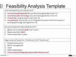 report to senior management template 9 project feasibility report template templatesz234