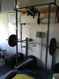 Bench For Power Rack Unistrut Squat Rack Review Unistrut Squat Rack Pinterest