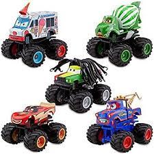 monster truck mater 5 pc deluxe figure set disney pixar cars