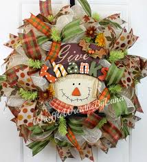Thanksgiving Deco Mesh Wreaths 1016 Best Mesh Crafts Images On Pinterest Wreath Ideas Holiday