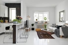 decoration salon cuisine deco salon cuisine ouverte design d int rieur style scandinave