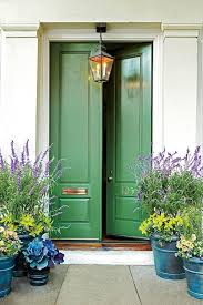 Painting Exterior Door 13 Bold Colors For Your Front Door Green Front Doors Bold