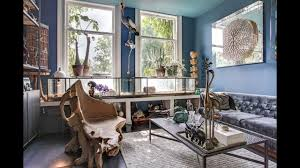 tour maximalist house filled with plants u0026 animals amsterdam