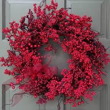 berry wreath berry wreath ridgewood designs