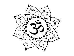 collection of 25 lotus tribal sketch