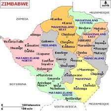 yp map of zimbabwe