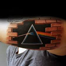 50 dark side of the moon tattoo designs for men pink floyd ideas