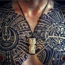 maori samoan inspired polynesian tattoo by rob deut holland