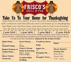 thanksgiving day order form