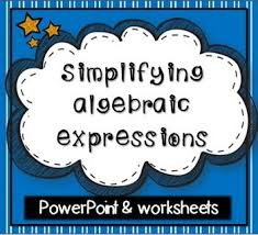best 25 simplifying algebraic expressions ideas on pinterest
